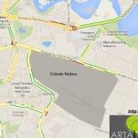 Harta localizare uzinele Faur Malaxa