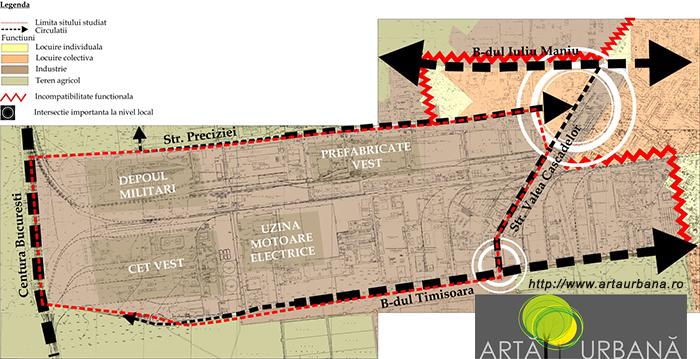 Analiza urbanistica ansamblu Industiilor-Preciziei