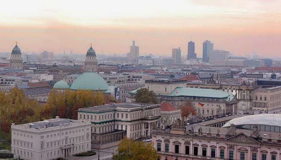 Orasul Berlin Panorama