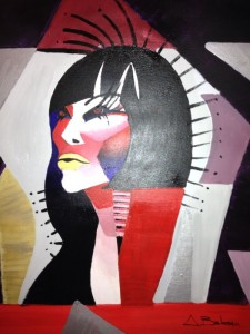 Pictura contemporana Egyptian woman
