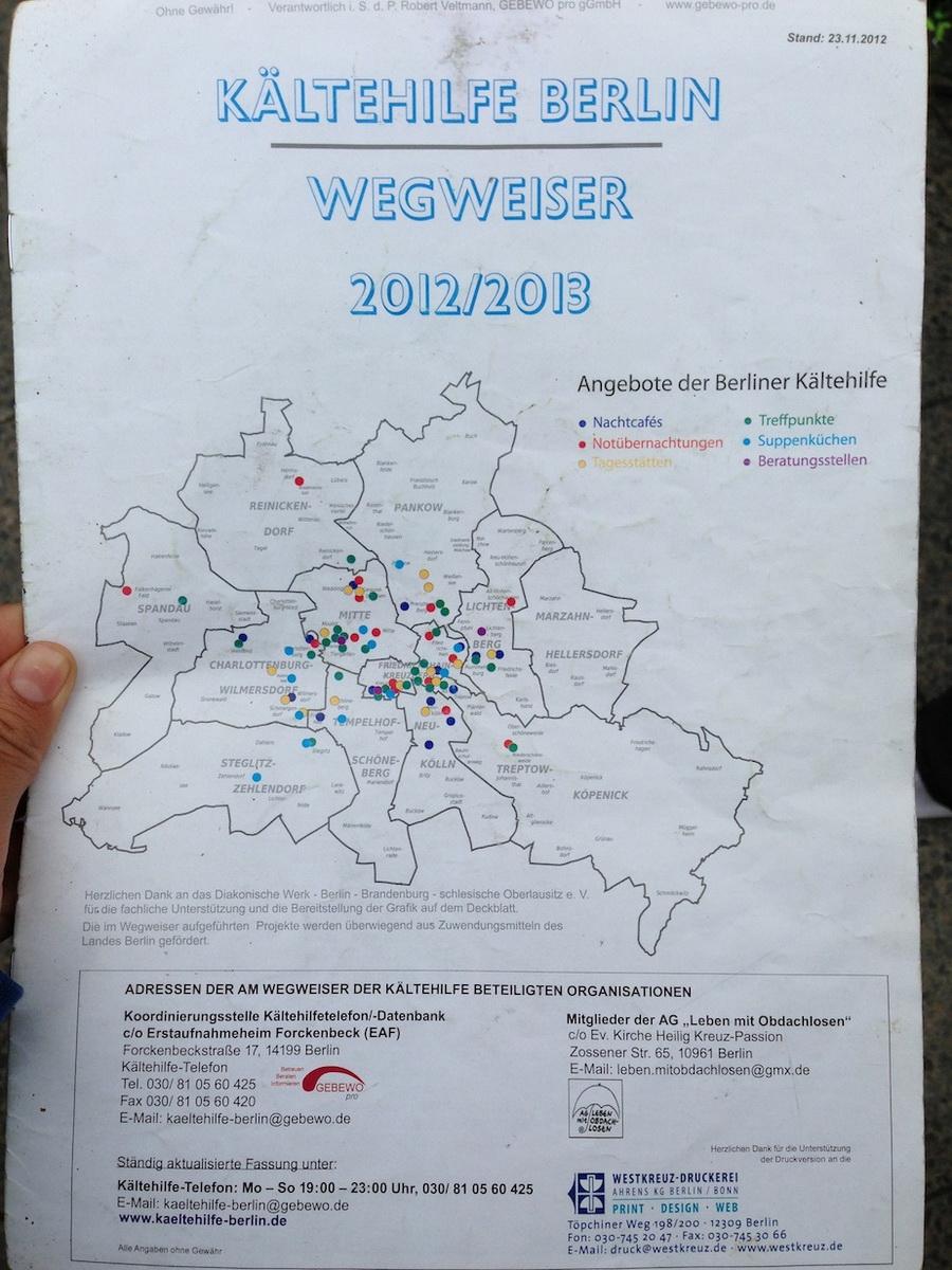 Harta saraciei Berlin