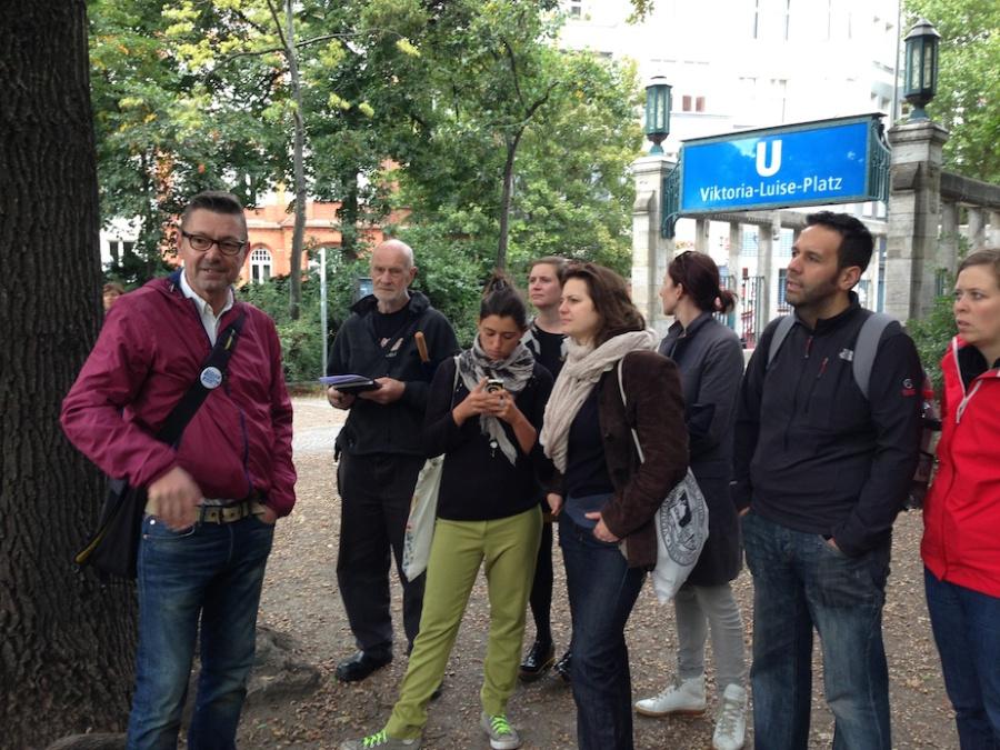 Tur ghidat Berlin oameni fara adapost